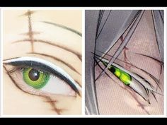 Tutorial : Anime Eye Makeup 232 • Undertaker