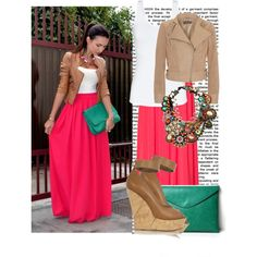 Love the idea of this outfit! Just maybe not in hot pink.....