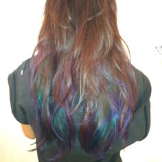 Dip dye color I did on Mika