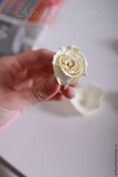 """Мастер-класс """"зефирная"""" роза - Ярмарка Мастеров - ручная работа, handmade"""