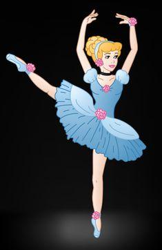 Disney Ballerina: Cinderella by Willemijn1991.deviantart.com on @DeviantArt