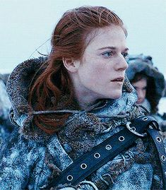 "Ygritte - Game of Thrones - ""You Know Nothing Jon Snow""."