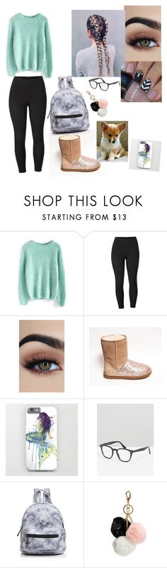 """FUZZY!!!!!"" by lunathemythicalcreature ❤ liked on Polyvore featuring Chicwish, Venus, ASOS, Corgi, Street Level, GUESS and plus size clothing"