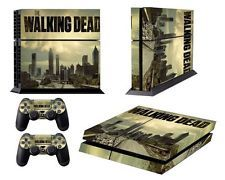 WALKING DEAD PS4 SKIN VINYL DECAL STICKER FOR PLAYSTATION 4 CONSOLE CONTROLLER
