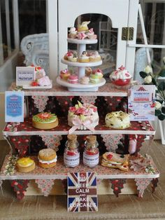 'The Great British Bake Off' in miniature. For sale on Ebay. Seller- 315 Princess.