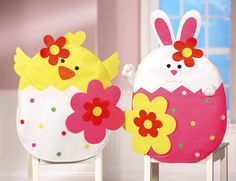 Festive Easter Chair Covers