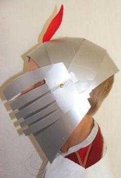 KNIGHT THEME:  Knight's Helmet