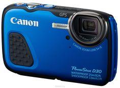 Canon PowerShot D30, Blue цифровая фотокамера