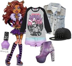 """""""Monster High ~ Clawdeen Wolf"""" by perfection-sets ❤ liked on Polyvore"""