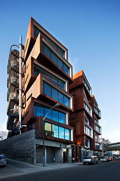 Ironbank building on Karangahape Rd, Auckland designed by RTA Studio