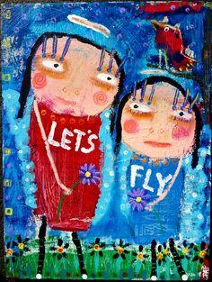 """Let's Fly"" by Tracey Ann Finley. www.traceyannfinley.com"