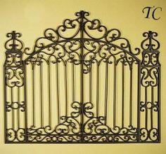Pietra Mediterranean 30 Garden Gate Wall Grille Gardens