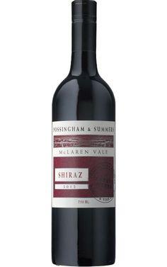 Possingham & Summers Estate Range #Shiraz 2012 McLaren Vale - 12 Bottles Shiraz Wine, New Zealand Wine, Red Wines, Alcoholic Drinks, Bottles, Range, Canning, Glass, Summer