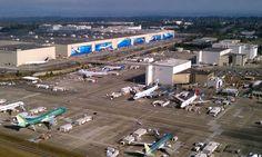 Fabrica Boeing din Everett împlinește 50 de ani