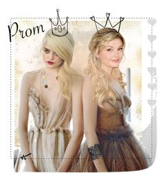 """""""Prom Pouts"""" by mermadem8 ❤ liked on Polyvore featuring art"""