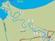 lower tongariro river map