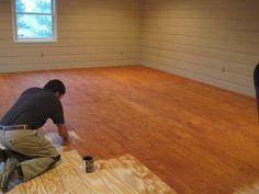 cheap flooring ideas on pinterest flooring ideas plywood floors