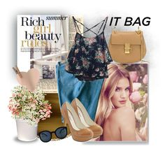 """""""Summer contest - It Bag"""" by kadric-609 ❤ liked on Polyvore featuring Chloé, Whiteley, Sandro, Michael Antonio and itbag"""
