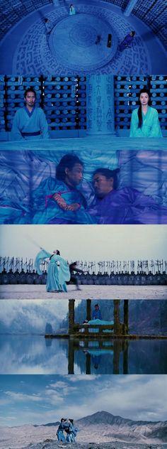 Hero (2002) Yimou Zhang Costume designer: Emi Wada Estante da Sala. If you like UX, design, or design thinking, check out theuxblog.com