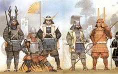 Angus Mc Bride - Tokugawa Ieyasu en Sekigahara, 1600