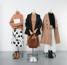 casual date outfit Cute Fashion, Asian Fashion, Look Fashion, Winter Fashion, Fashion Design, Muslim Fashion, Modest Fashion, Hijab Fashion, Fashion Dresses