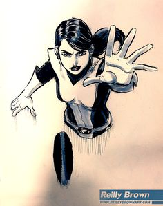 reillybrown:   Shadowcat commission from SDCC    ... - Art Vault