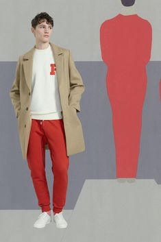 See all the looks from Maison Kitsuné Men AW17 collection.