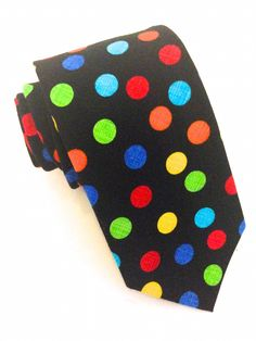 Smarties Multi Coloured Tie   #VanBuck #Tie #NeckTie #Ties #Rainbow #Novelty #Colourful #Accessories #MensAccessories #Smarties #ColourfulTie  http://www.fabties.com/ties/novelty-ties/smarties-multi-coloured-tie.html