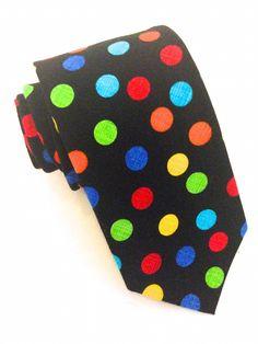 Smarties Multi Coloured Tie   #VanBuck #Tie #NeckTie #Ties #Rainbow #Novelty #Colourful #Accessories #MensAccessories #Smarties #ColourfulTie  http://www.fabties.com/ties/novelty-ties/smarties-multi-coloured-tie.html