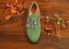 Women Oxford flat Shoes-Women Shoes Leather Flat Shoes