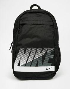 cacf44b3fb1b Image 1 of Nike Sand Backpack in Black