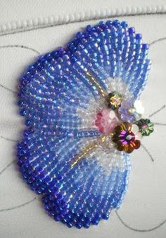 Bead work. WOW! That's A LOT of work but beautiful!