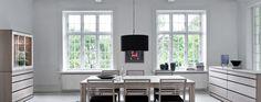 Patenteret Skovby #24 spisebord og markedets mest stabile langbord. Op til hele 20 personer. | Skovby Møbler