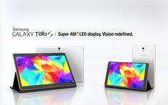 Prepare-se para uma experiência de cor inesquecível O GALAXY Tab S torna a sua experiência de visualização verdadeiramente excecional. O ecrã Super AMOLED oferece uma reprodução de cores realista que suporta 94% da gama de cores Adobe RGB em comparação com os LCDs (73%). www.comprarmaais facil.com  origem:https://youtu.be/qwpfT9jtsMk