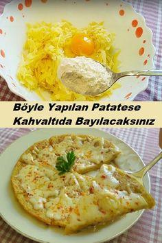 Turkish Breakfast, Breakfast Potatoes, Mac And Cheese, Food Preparation, Food Art, Baked Potato, Easy, Clean Eating, Brunch