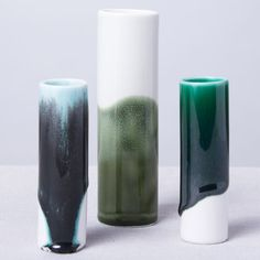 Japanese ceramics designer Reiko Kaneko is unveiling her first collection after three years of experimentation with porcelain glazing.