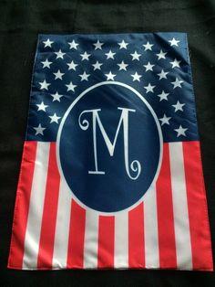 New 30*45cm American USA US Flag Stripes Stars Brass United States Garden Flag