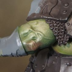Sproket's Small World: Painting Ork (Orruk) flesh