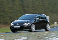 Volkswagen Golf VII R B&B with 420 HP