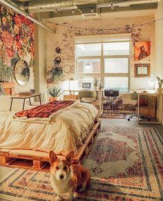 hippie bedroom decor 432486370469209201 - Bohemian Style Ideas For Bedroom Decor Design Source by Room Ideas Bedroom, Cozy Bedroom, Bedroom Inspo, Bed Room, Dorm Room, Design Bedroom, Bedroom Bed, Scandinavian Bedroom, Bedroom Small