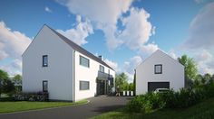 The design reflects traditional characteristics of rural farmhouse but the detailing is executed in a contemporary manner. Future House, Architects, House Plans, New Homes, Farmhouse, House Design, Traditional, Contemporary, Mansions