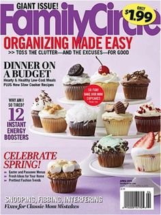 Family Circle Magazine: 1-yr for 5.00!  #magazines #familycircle