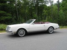 1982 Buick Riviera convertible I bought this car in Phoenix and brought it to Canada