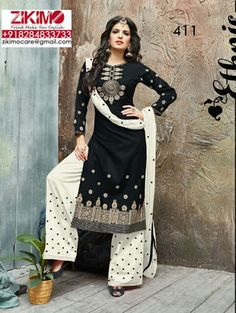 02f7bc21ae Satin Cotton Daily Wear Indian Suits at Zikimo Fashion. Visit : https://