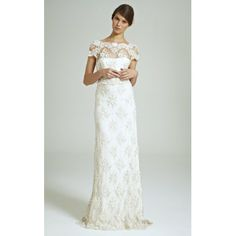 Magical Garden Beaded Lace Gown