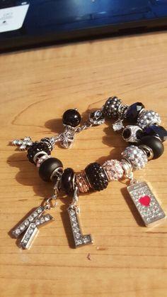 Social media theme bracelet