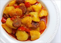 Patatas Riojanas: Rioja-style Potatoes with Chorizo