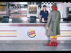 Mc Donalds vs Burger King