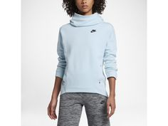 Sweat a capuche nike femme tech fleece funnel