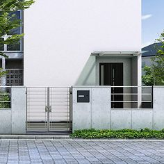 ルシアス シリーズ ウォール | YKK AP株式会社 Car Parking, Gate, Garage Doors, Outdoor Decor, Home Decor, Gardens, Decoration Home, Portal, Room Decor